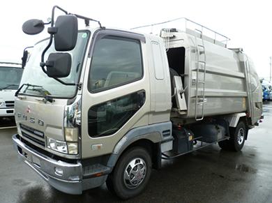 トラック パッカー車